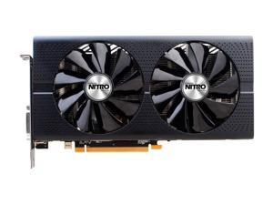 SAPPHIRE NITRO Radeon RX 480 100406NT 4GOCL 4GB 256-Bit GDDR5 PCI Express Video Card + AMD DOOM