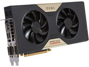 EVGA 04G-P4-3778-RX GeForce GTX 770 4GB 256-Bit GDDR5 PCI Express 3.0 x16 HDCP Ready SLI Support Video Card