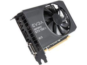 EVGA 02G-P4-3753-KR G-SYNC Support GeForce GTX 750 Ti Superclocked 2GB 128-Bit GDDR5 PCI Express 3.0 Video Card