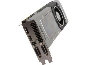 EVGA GeForce GTX TITAN BLACK Superclocked 06G-P4-3791-KR Video Card