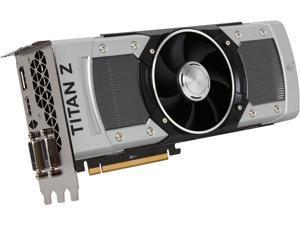 EVGA 12G-P4-3992-KR G-SYNC Support GeForce GTX TITAN Z Superclocked 12GB 768-Bit GDDR5 PCI Express 3.0 SLI Support Video ...