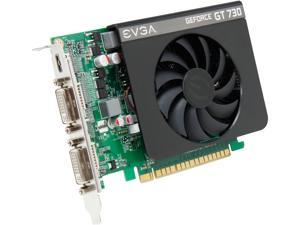 EVGA GeForce GT 730 DirectX 12 (feature level 11_0) 01G-P3-2731-KR 1GB 128-Bit DDR3 PCI Express 2.0 Video Card