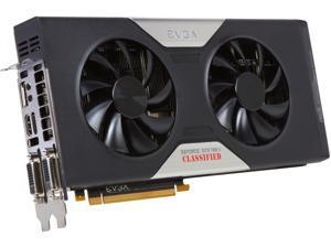 EVGA GeForce GTX 780 Ti DirectX 12 03G-P4-2887-KR 3GB 384-Bit GDDR5 PCI Express 3.0 x16 SLI Support Video Card