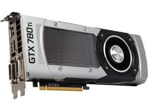 EVGA GeForce GTX 780 Ti Superclocked DirectX 12 (feature level 11_0) 03G-P4-2883-RX 3GB 384-Bit GDDR5 PCI Express 3.0 SLI Support Video Card