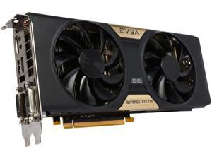 EVGA GeForce GTX 770 DirectX 12 (feature level 11_0) 02G-P4-2776-RX 2GB 256-Bit GDDR5 PCI Express 3.0 SLI Support SuperClocked SC w/ EVGA ACX Cooler Video Card