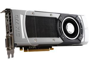 EVGA GeForce GTX 770 DirectX 12 (feature level 11_0) 02G-P4-3771-RX 2GB 256-Bit GDDR5 PCI Express 3.0 SLI Support Video Card