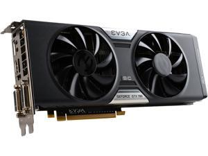 EVGA GeForce GTX 780 DirectX 12 (feature level 11_0) 06G-P4-3787-RX 6GB 384-Bit GDDR5 PCI Express 3.0 SLI Support SC w/ EVGA ACX Cooler Video Card