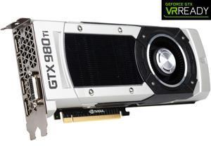 EVGA GeForce GTX 980 Ti 06G-P4-4990-KR 6GB GAMING, Whisper Silent Cooling Graphics Card