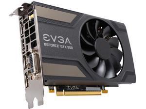EVGA GeForce GTX 950 02G-P4-2951-KR 2GB GAMING, Silent Cooling Gaming Graphics Card