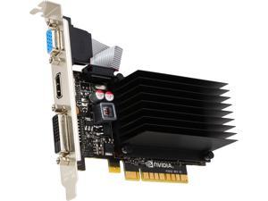 EVGA GeForce GT 720 DirectX 12 02G-P3-2724-RX 2GB 64-Bit DDR3 PCI Express 2.0 x 8 Video Card