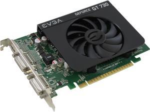 EVGA GeForce GT 730 DirectX 12 04G-P3-2739-KR 4GB 128-Bit DDR3 PCI Express 2.0 Video Card