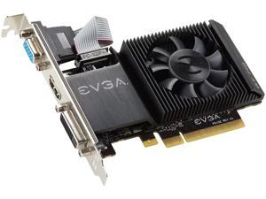 EVGA GeForce GT 710 DirectX 12 02G-P3-2713-KR 2GB 64-Bit DDR3 PCI Express 2.0 Video Card