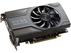 EVGA GeForce GTX 950 DirectX 12 02G-P4-1954-KR 2GB 128-Bit GDDR5 PCI Express 3.0 x16 SLI Support GAMING Video Card