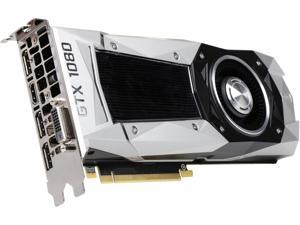 EVGA GeForce GTX 1080 FE DirectX 12 08G-P4-6180-KR 8GB 256-Bit GDDR5X PCI Express 3.0 HDCP Ready SLI Support Video Card FOUNDERS EDITION