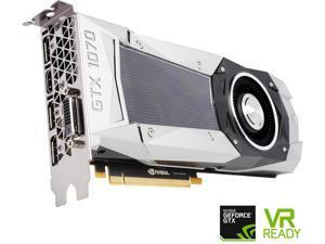 EVGA GeForce GTX 1070 Founders Edition, 08G-P4-6170-KR, 8GB GDDR5, LED, DX12 OSD Support (PXOC)