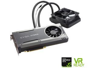 EVGA GeForce GTX 1080 FTW HYBRID GAMING, 08G-P4-6288-KR, 8GB GDDR5X, RGB LED, All-In-One Watercooling with 10CM FAN, 10 Power Phases, Double BIOS, DX12 OSD Support (PXOC)