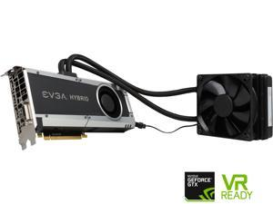 EVGA GeForce GTX 1080 HYBRID GAMING, 08G-P4-6188-KR, 8GB GDDR5X, LED, DX12 OSD Support (PXOC)