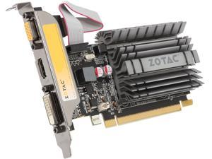 ZOTAC GT 700 GeForce GT 730 DirectX 12 (feature level 11_0) ZT-71114-20L 1GB 64-Bit DDR3 PCI Express 2.0 x16 (x8 lanes) Plug-in Card Video Card