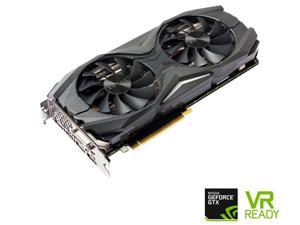 ZOTAC GeForce GTX 1070 AMP! Edition, ZT-P10700C-10P, 8GB GDDR5 IceStorm Cooling, Metal Wraparound Carbon ExoArmor exterior, Ultra-wide 100mm Fans, Spectra Lighting, PowerBoost, FREEZE fan stop