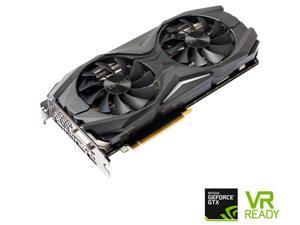 ZOTAC GeForce GTX 1070 AMP! Edition, ZT-P10700C-10P, 8GB GDDR5 IceStorm Cooling, Metal Wraparound Carbon ExoArmor ...