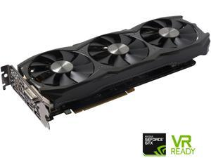 ZOTAC GeForce GTX 1070 DirectX 12 ZT-P10700I-10P 8GB 256-Bit GDDR5 PCI Express 3.0 SLI Support Video Card