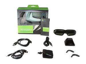 NVIDIA NVIDIA 3D Vision 2 Wireless Glasses Kit Model 942-11431-0007-001