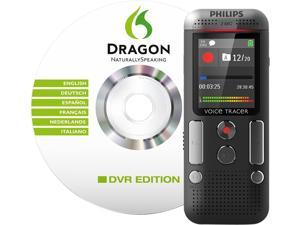Philips - PSPDVT270000 - Voice Tracer 2700 Digital Recorder with Speech Recognition Software, Black