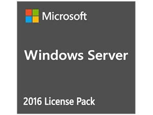 Microsoft P73-07213 Windows Svr Std 2016 English 1Pkdsp Oei