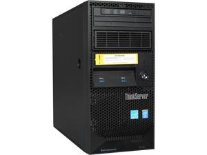 Lenovo ThinkServer TS140 70A4003GUS 4U Tower Server - 1 x Intel Xeon E3-1226 v3 Quad-core (4 Core) 3.30 GHz