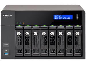 QNAP TVS-871T-I7-16G-US Thunderbolt Nas I7 3.2G 16Gb Ddr3 Ram 2X10Gbe 4X1Gbe Hdmi