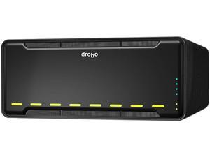 Drobo B810n Network Attached Storage 8 bay array with optional SSD acceleration - Gigabit Ethernet x 2 ports (DR-B810N-5A21)