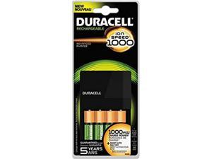 Duracell value Charger with 4 AA StayCharged Batteries 1 Kit (CEF14)