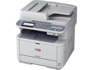 Oki MB451W LED Multifunction Printer - Monochrome - Plain Paper Print - Desktop