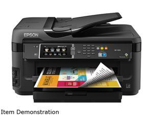 Epson WorkForce WF-7610 (C11CC98201) Up to 18 ppm 4800 x 2400 dpi USB/Ethernet/Wi-Fi All-in-One Inkjet Printer