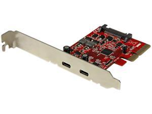 StarTech.com 2-Port USB 3.1 (10Gbps) Card - 2x USB-C - PCIe (PEXUSB312C)