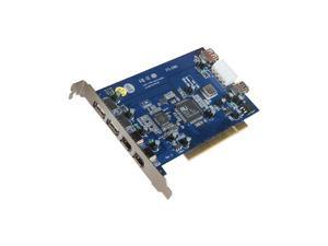 BELKIN 3-Port Hi-Speed USB 2.0 and 3-Port FireWire PCI Card Model F5U508v1