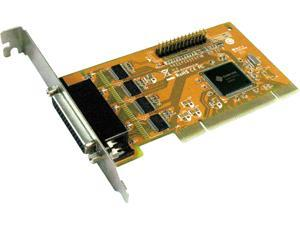 SUNIX 4-port High Speed RS-232 & 1-port Parallel PCI Express Multi-I/O Board Model MIO5499H+L