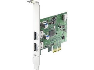 BUSlink 2-port PCI-Express USB 3.0 Adapter Model U3-PCIE