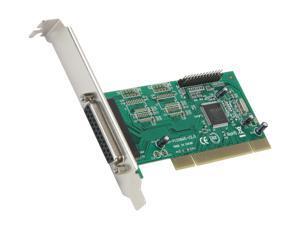 SYBA 2 Ports PCI Parallel Card Model SY-PCI10002