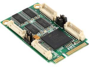 SYBA 4-Port Serial Mini PCI-E Controller Card Model SI-MPE15047