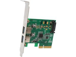 SYBA 2 Port Type-A USB 3.1 10Gbps Card Model SI-PEX20208