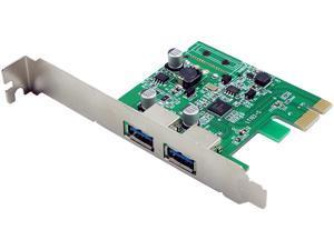 VisionTek 2 Port USB 3.0 x1 PCIe SFF Bus Powered Internal Card Model 900869