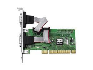 SIIG 2-Port Serial Add-On Card Model JJ-P20511-S3 - OEM
