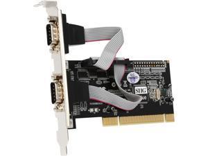 SIIG 2-Port 9-pin Serial Ports PCI Card Model JJ-P20511-S3
