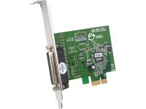 SIIG 1-port Dual Profile ECP/EPP high-speed parallel PCIe adapter Model JJ-E01011-S3