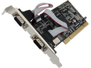 SIIG 4-Port RS232 Serial PCI with 16550 UART Model JJ-P04511-S1