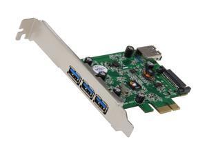 SIIG USB 3.0 4-Port PCIe i/e Model JU-P40212-S1