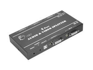 SIIG 1x4 DVI & Audio Splitter CE-D20411-S1