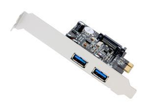 SIIG DP USB 3.0 2-Port PCIe - Value Model JU-P20811-S1