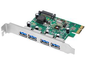 SIIG 4-Port USB 3.0 PCIe Model JU-P40412-S1